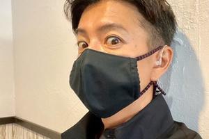 木村拓哉戴口罩照片