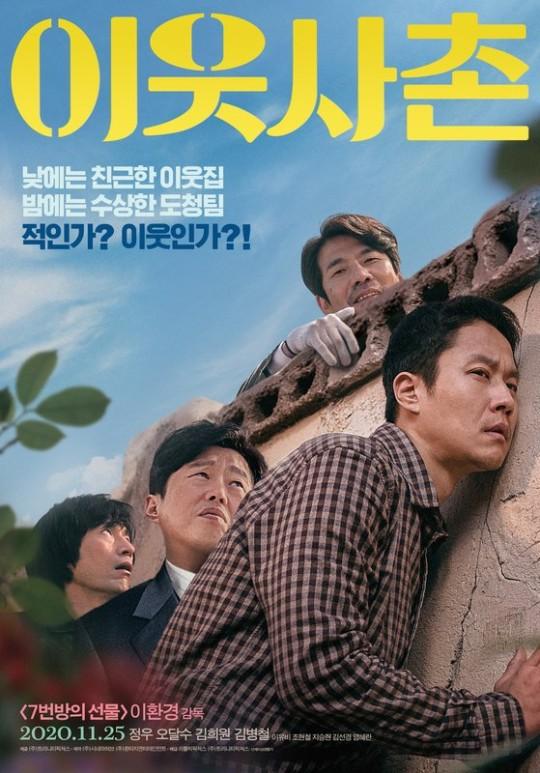 韩影票房:《邻居》蝉联冠军 诺兰两片入榜