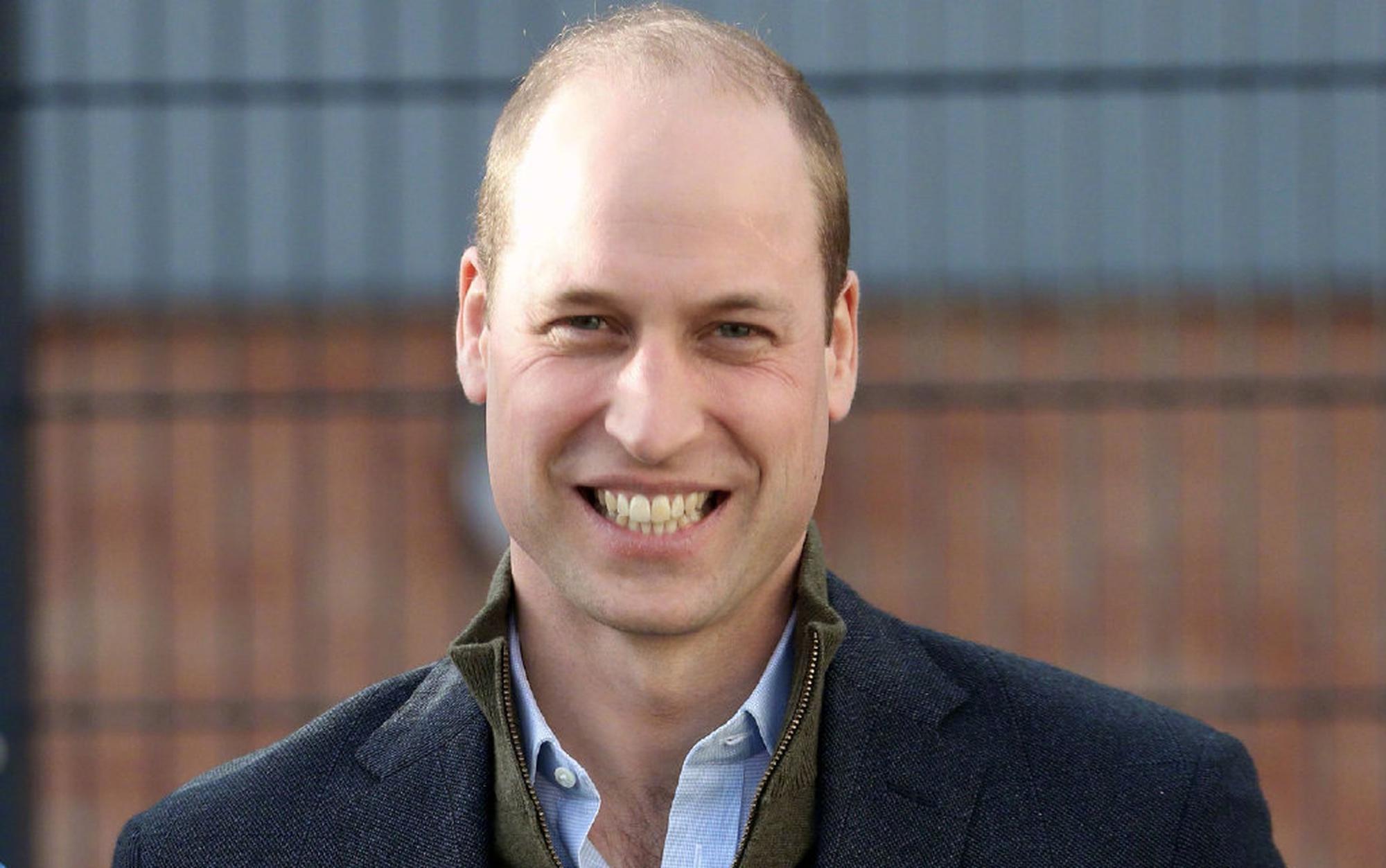 威廉王子被评为世界最性感秃顶男人 巨石强森不服