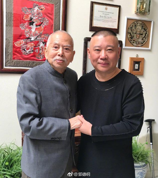 郭德纲悼念相声艺术家吴兆南 曾数次拜访切磋技艺