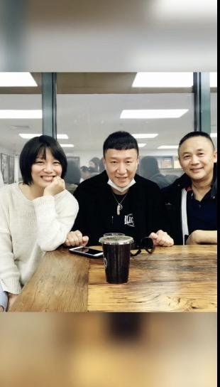 张蕾和孙红雷相符照