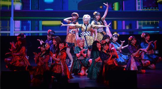 《AKB48 Group Asia Festival 2021 ONLINE》演出现场