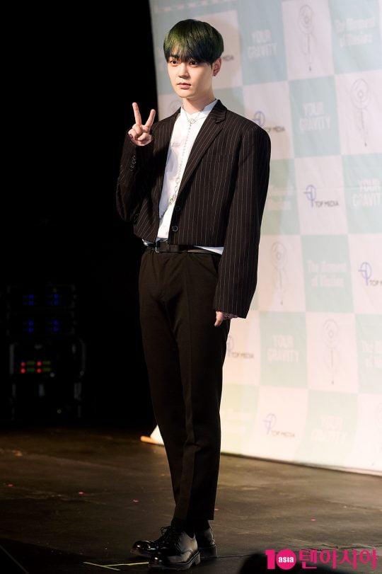 韩团UP10TION成员Bitto确诊新冠 刚参加打歌活动