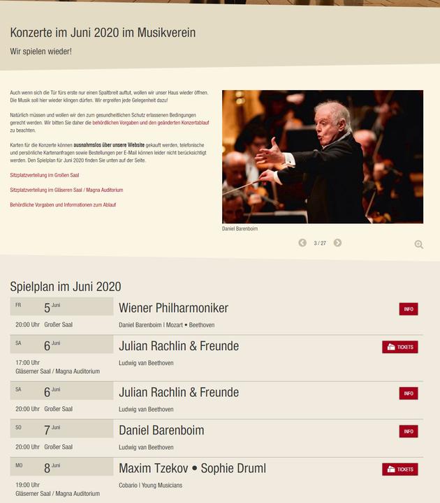 维也纳金色大厅6月恢复演出 爱乐乐团等重返舞台