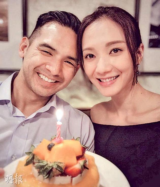 """王君馨为老公Daniel庆生不但送上香吻,还说:""""我爱你!"""""""