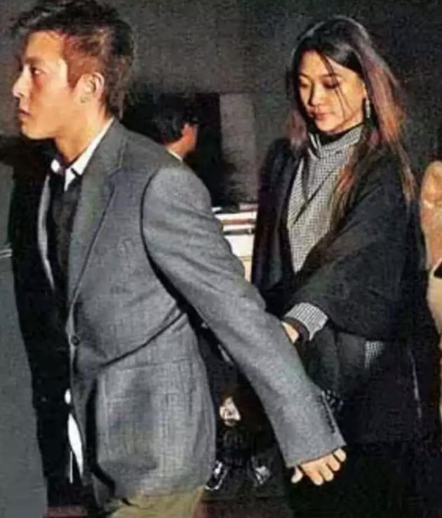 陈冠希与杨永晴旧照