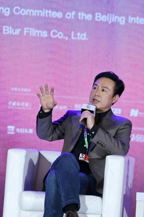张颂文在北京电影节公里电影大师班