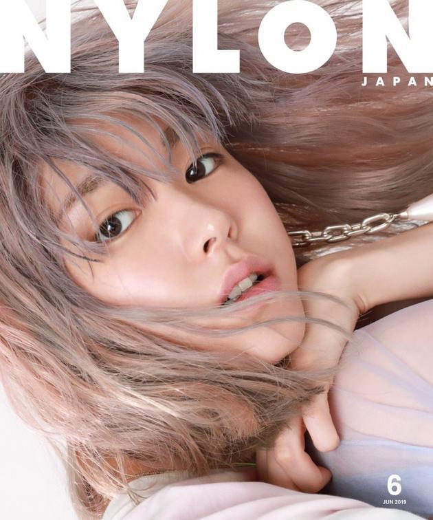 新垣结衣为杂志《NYLON JAPAN》拍双封面1
