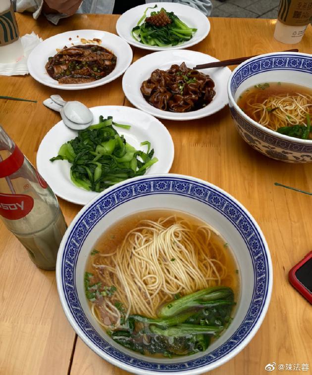 陈法蓉生日餐