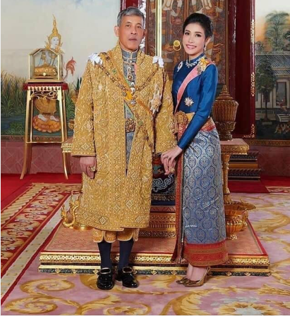 泰王哇集拉隆功和诗妮娜