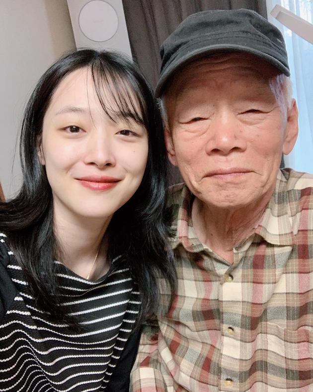 雪莉与爷爷