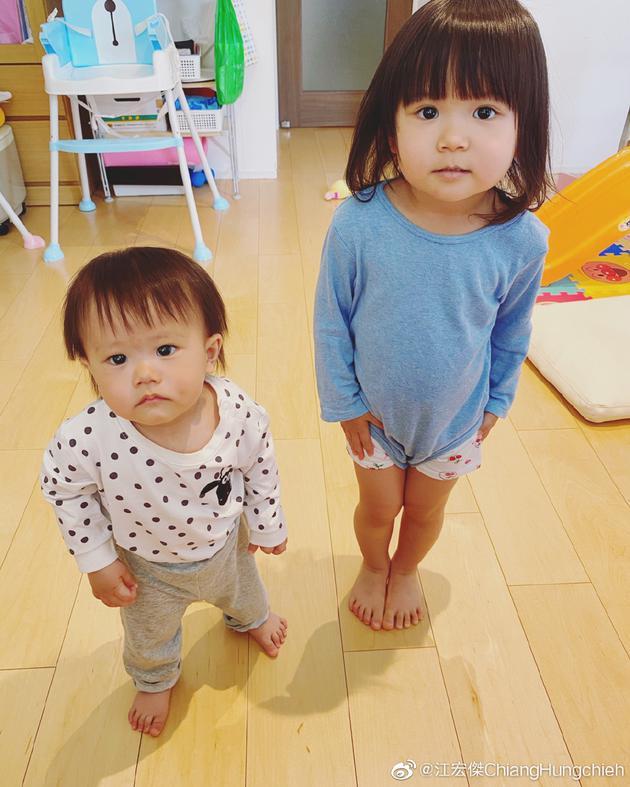 江宏杰的儿子与女儿