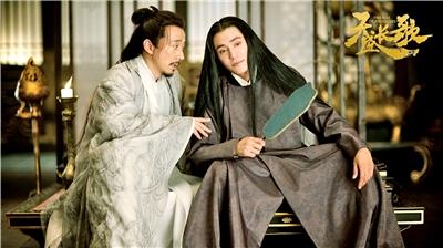 《天盛長歌》中陳坤長發造型。
