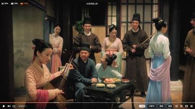 《韩熙载夜宴图》被形象地予以再现。