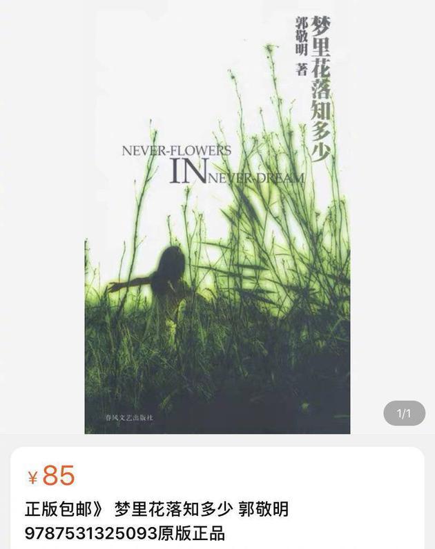 出版社回应郭敬明涉抄袭作品仍在平台售卖