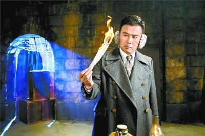柳云龙在《胜算》中再次饰演谍战人员