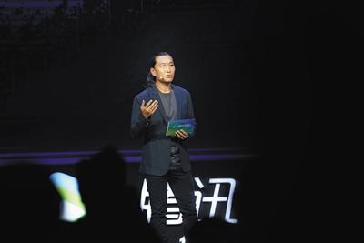 腾讯公司副总裁、企鹅影视CEO孙忠怀发言