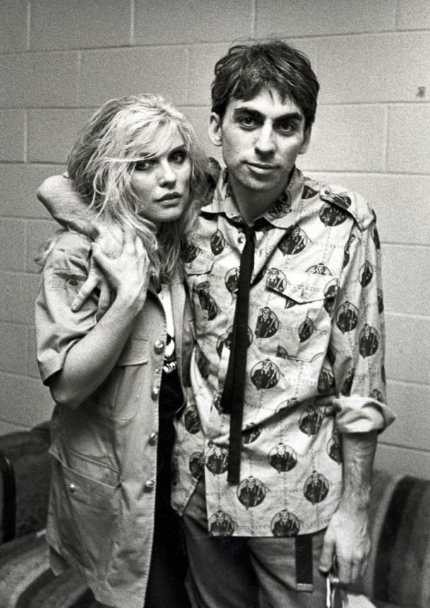 Debbie与当时男友Chris Stein。
