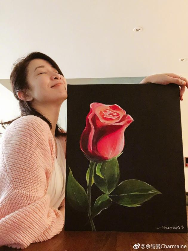 佘诗曼和她的玫瑰