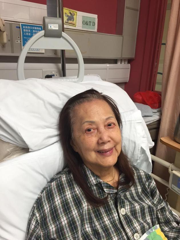 夏萍干儿子林家栋证实其死讯:这半年她很不好受
