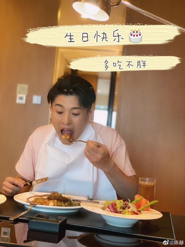 梦回《爱情公寓》!陈赫发文为孙艺洲庆祝生日