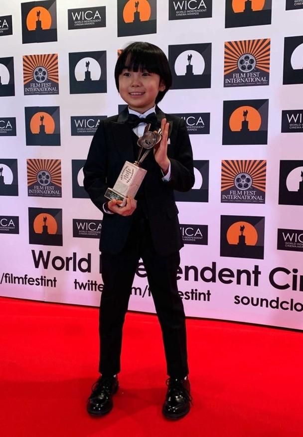 年仅十岁的童星寺田心获得米兰国际电影节表语片最佳男主角奖。