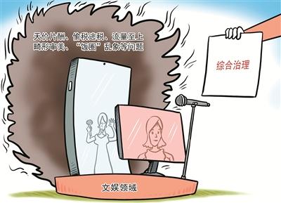 中纪委就饭圈乱象发声(图片来源:视觉中国)
