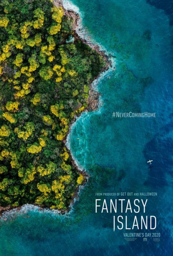 《梦幻岛》海报
