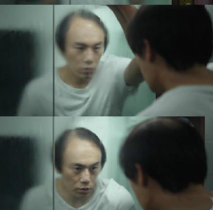 秦昊秃头造型