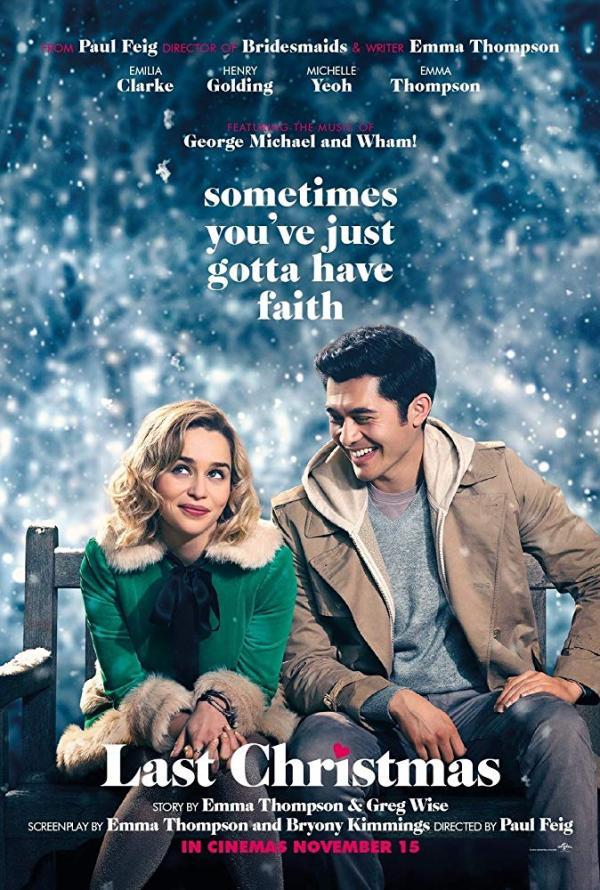 《去年圣诞》海报