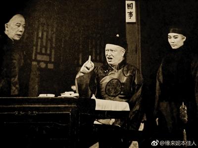 吕中第一次上人艺舞台是在《茶馆》里演小太监。