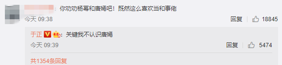 《天辰注册登录被建议劝杨幂唐嫣和解 自称和事佬的于正如此回应》