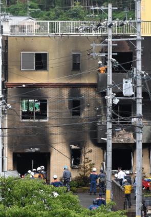 京都动画发生爆炸火灾