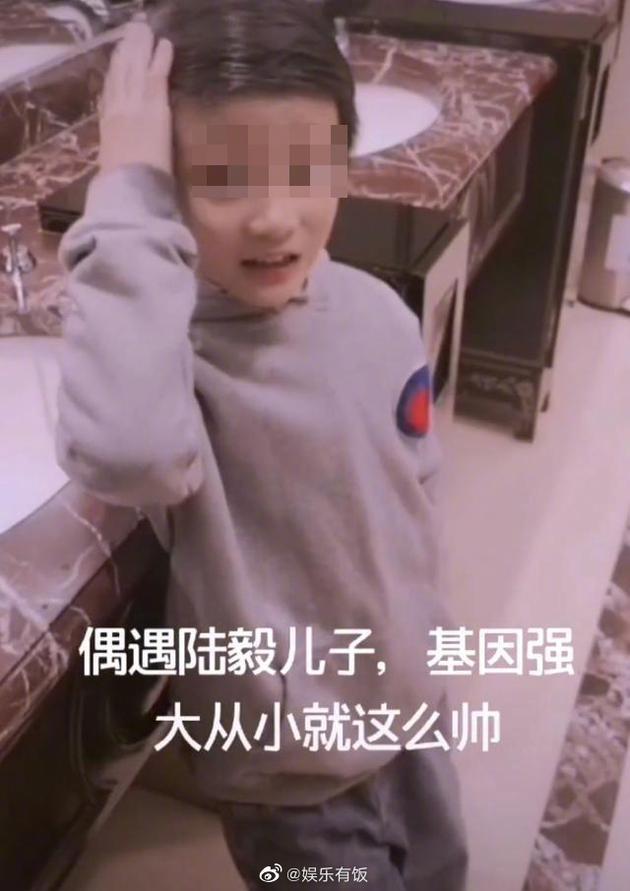 网传小男孩获鲍蕾陪伴出行 陆毅方辟谣有三胎儿子