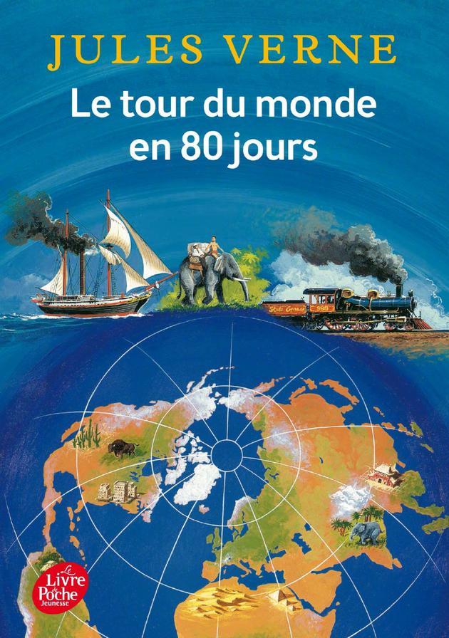 凡尔纳著名小说《八十天环游地球》