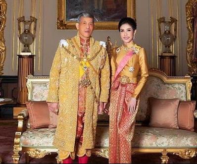 传68岁泰国国王再当爸 神秘妃子诞下小王子