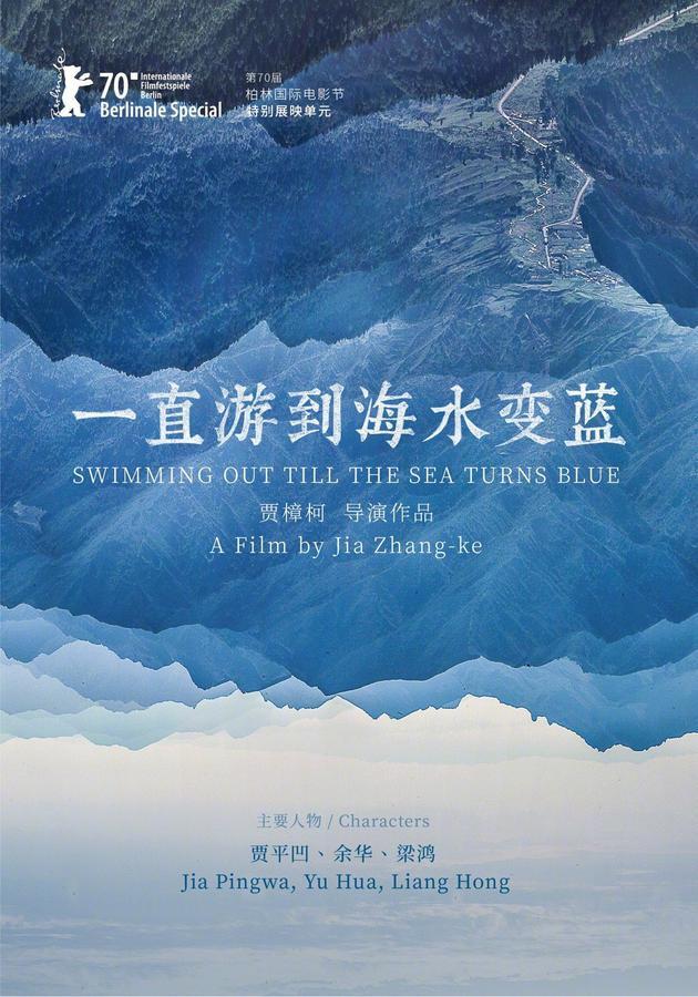 贾樟柯《一直游到海水变蓝》获电影公映许可证