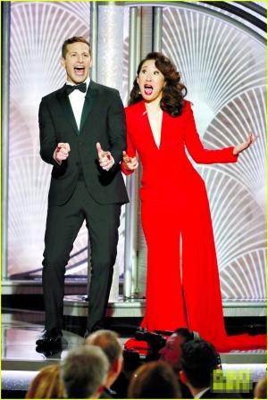吴珊卓与安迪·萨姆伯格的主持风格受到好评。