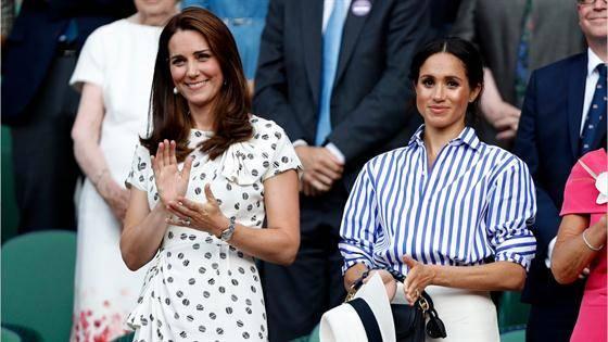 此前有新闻传出梅根王妃与凯特王妃发声了强烈的不和。