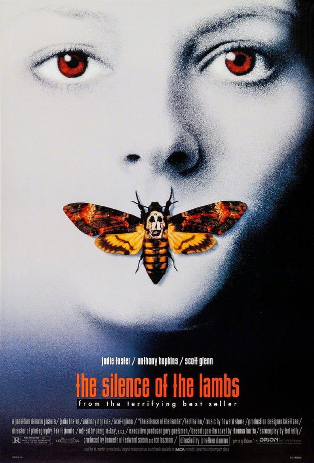《沉默的羔羊》电影海报