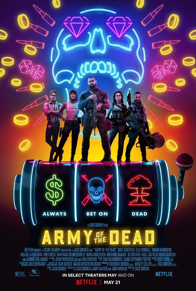 《活死人军团》海报