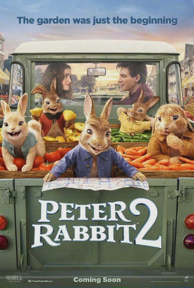 《比得兔2》再次改档至7.2 半个月前刚刚提档