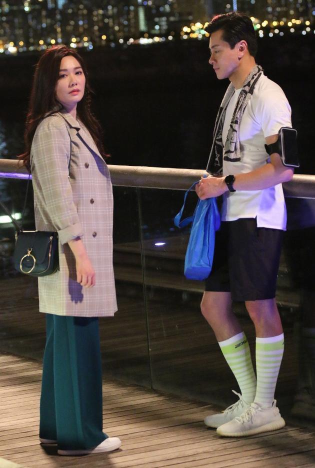 汤洛雯和黄浩然是《法证前卫4》的男女主