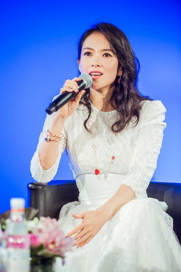章子怡谈40岁规划:希望给家里添一个新成员