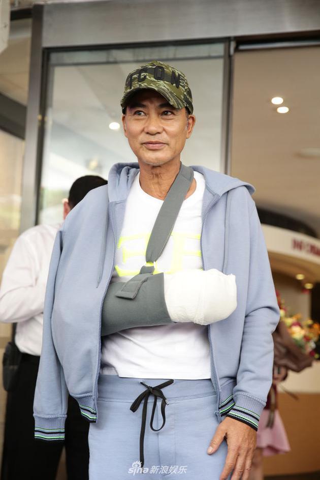 任达华遇袭后第五天出院