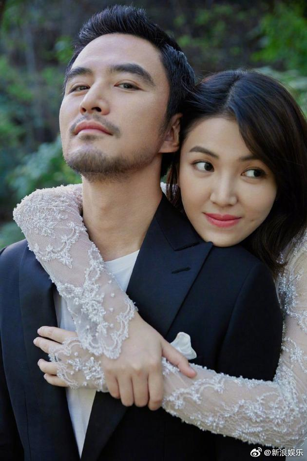 张晓晨与妻子