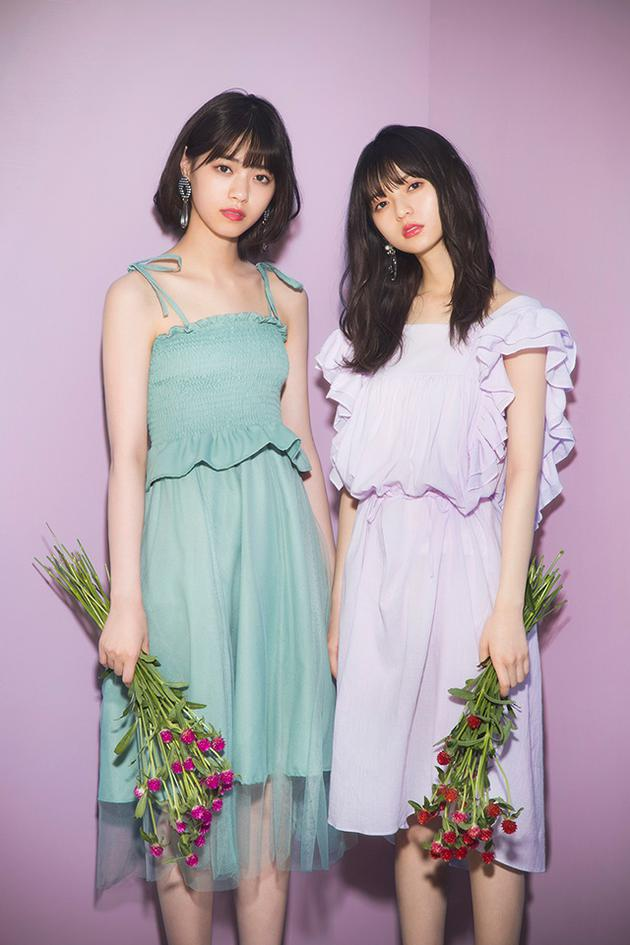 西野七濑斋藤飞鸟拍广告 展现青春美少女魅力