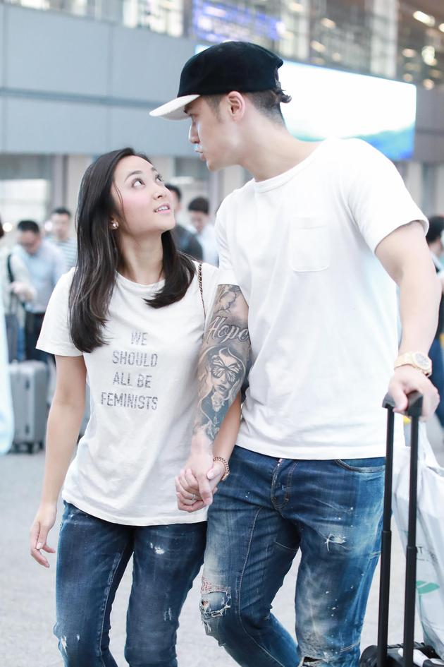 蒋劲夫与日本女友中浦悠花
