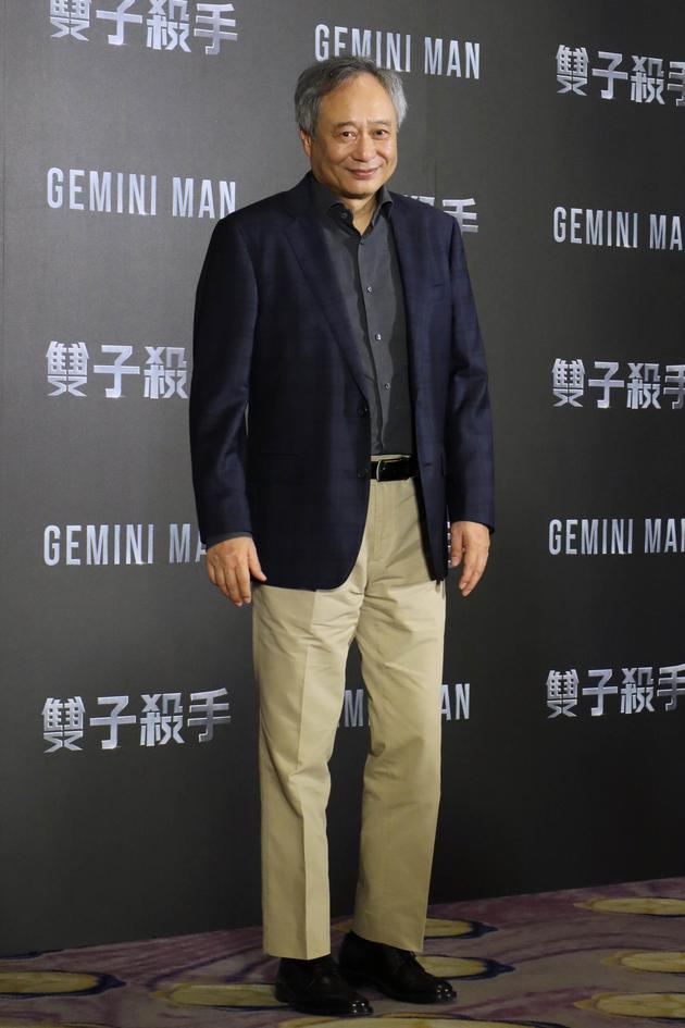 李安在台北宣传《双子杀手》