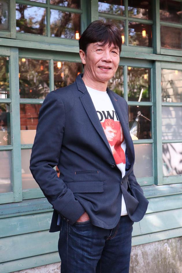太保在台北接受媒媒体采访